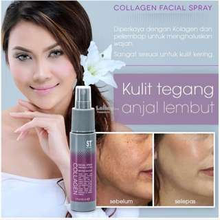 Collagen spray