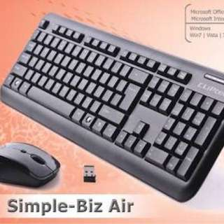 Cliptec Wireless Keyboard + Mouse