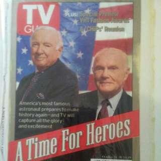 Rare TV guide. Cover