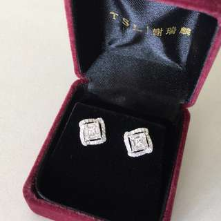 ✨Sale ⬇️ $8,498, 60% off✨New 0.91 carat diamond earrings