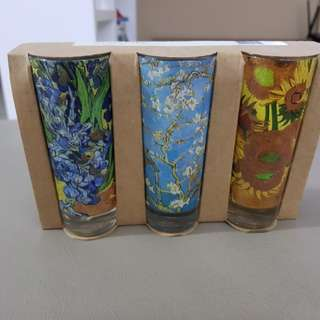 Van gogh museum shot glasses