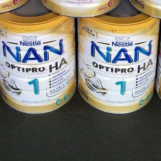 NAN 1 infant formula milk powder