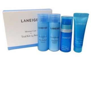 Authentic Laneige Moisture Care Trial Kit