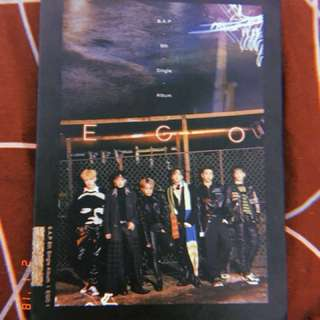 BAP EGO ALBUM WITH FOLDED POSTER