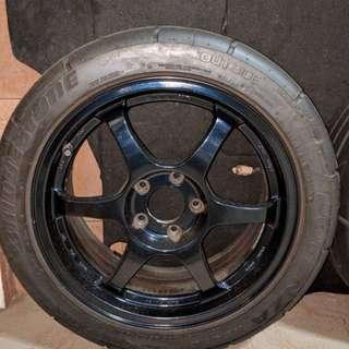 """Original wheel SSR TYPE C 17"""""""