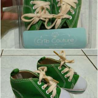 Green Shoes for baby boy
