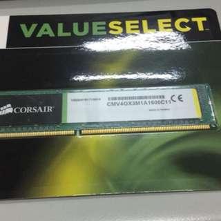 Corsair 4gb ddr3 1600 Memory RAM