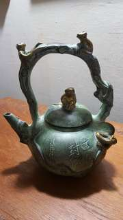 Tea pot metallic