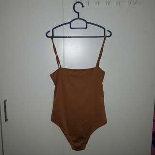 Brown bodysuit/onepiece