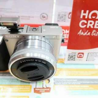 KREDIT Kamera Sony a6000 Garansi Resmi 1thn