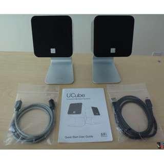 UCube USB-Digital Speaker 數碼揚聲器- 銀色 (包順豐)