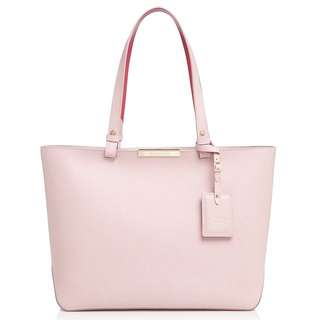 BN Authentic Longchamp Le Foulonne Medium City Tote in Pink