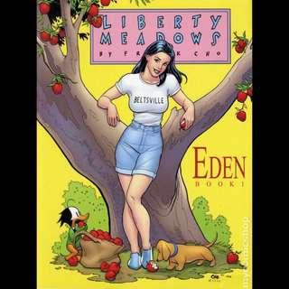 LIBERTY MEADOWS: BOOK ONE - EDEN TPB (2002) Frank Cho