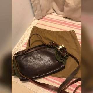 Il bisonte small shoulder bag