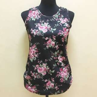Floral Bubblepop Top