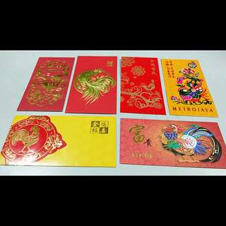 Rooster red packets collection