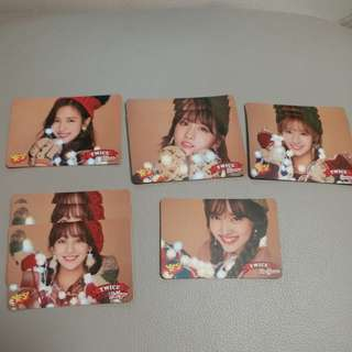 Twice yescard Merry and Happy$2@1