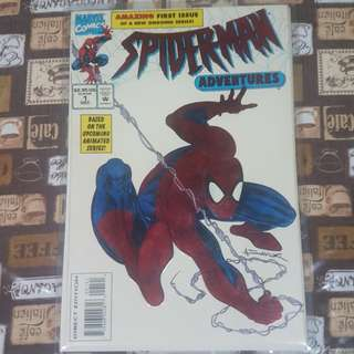 Spiderman Adventures No.1 Marvel Comics
