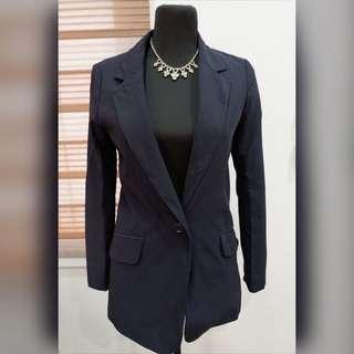 💙GU Navy Blue Classy Coat/Cardigan💙