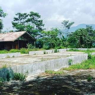 Dijual Tanah Bekas Gudang Kopi Mainroad Jalan Provinsi Pangalengan Banjaran Bandung