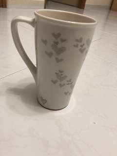 Starbucks love shape cup
