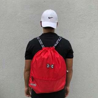 SACK BAG HIGH QUALITY   UNDER ARMOUR RED