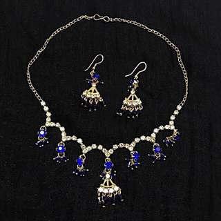Indian costume jewellery set