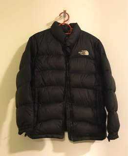 The north face light down jacket