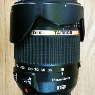 [USED] Tamron 18-270mm f/3.5-6.3 Di II VC PZD AF Lens (for Canon)