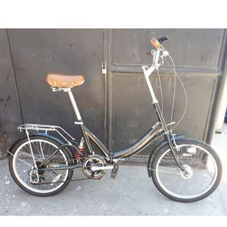 SPARK FOLDING BIKE (FREE DELIVERY AND NEGOTIABLE!)