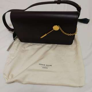 (90% new 9成新) Sophie Hulme Cocktail Stirrer Bag (掛肩袋 shoulder bag)(clutch)