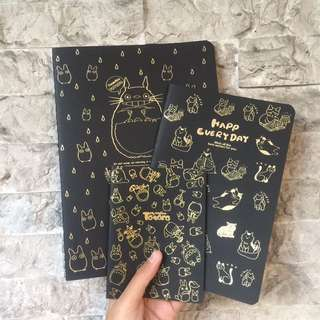 Black pages Notebook