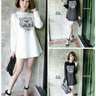 Blouse Kenzo  Bahan spandek soft fit to L