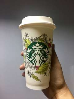 Starbucks Reusable Cup August 2017