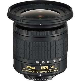 Nikon 10-20mm VR Lens
