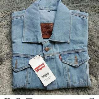 Jaket jeans army,birumuda,birutua,abu