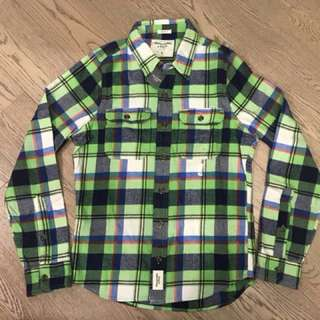 Abercrombie & Fitch A&F Brand new flannel shirt Size Small