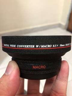Vitacon 0.5x Wide Angle + Macro Lens