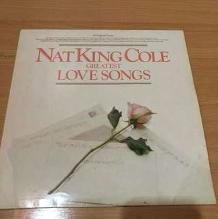 Nat King cole - love songs lp