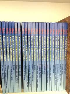 Disney children encyclopedia set of 24