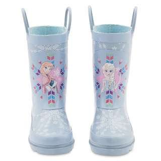 Frozen rain boots kids