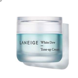 Laneige white dew tone up cream + BN puff