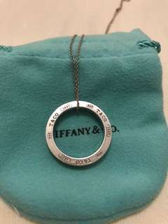 Tiffany 1837 Circle Pendant