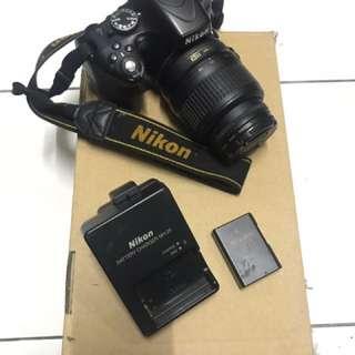 Nikon D5100 untuk dijual. Reason nak jual sebab nak pakai duit. Boleh nego.