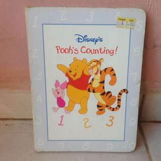 Board Book Disney - Pooh Counting