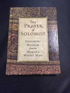 The prayer of Solomon