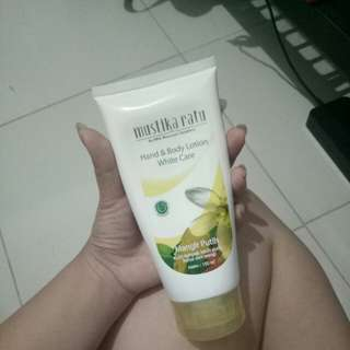 mustika ratu hand and body lotion