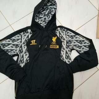 Jaket hoodie official liverpool