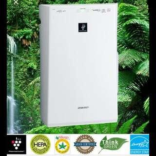 Sharp ION Air Purifier With Humidifying Function
