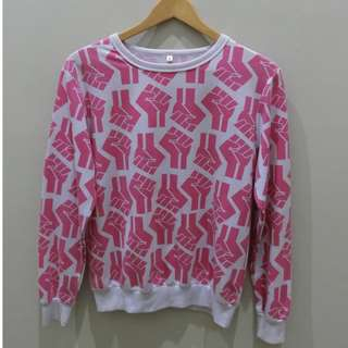 FULL PRINTED SWEATER